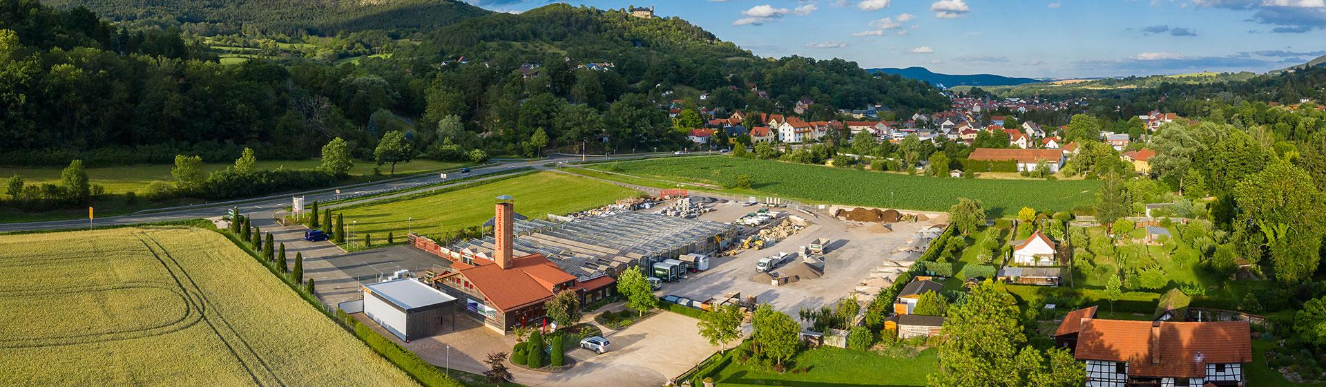 BIERBACH's's Gelände Drohnenperspektive