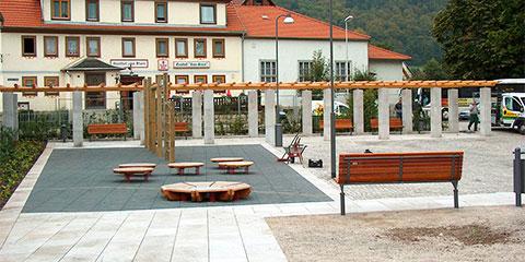 Untermassfeld Dorfplatz